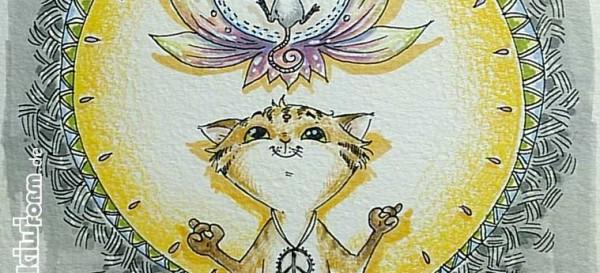 Meditation - In der Ruhe liegt die Kraft - Katz & Maus