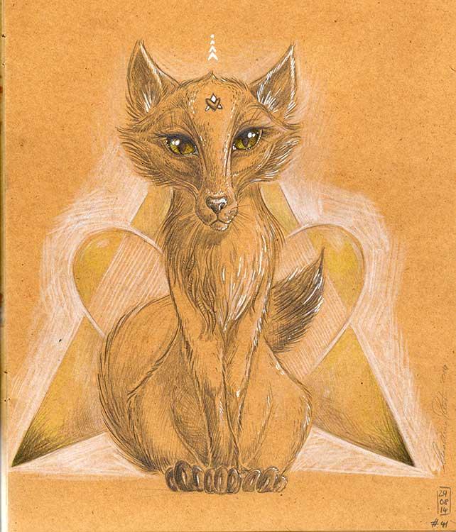 Fuchs - Daily Illu Tag 41