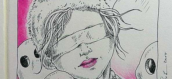 TraumRaum - Daily Illu Tag 80 - Nadine Reitz