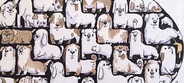 Daily-Illu_Tag87_Hunde-Tetris_Detail1_Nadine-Reitz