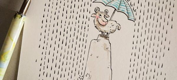 Enjoy the rainy days. - kiwiFORm | Nadine-Reitz