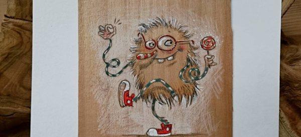Illustration - Mr Lollipop - kiwiFORm | Nadine-Reitz