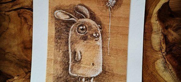 Illustration - Bunny - kiwiFORm | Nadine-Reitz
