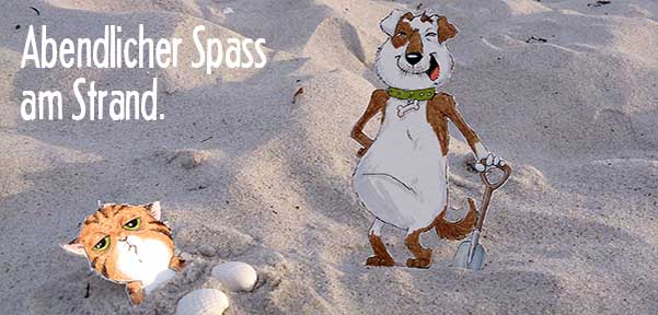 Daily Illu #30 – Spass am Strand