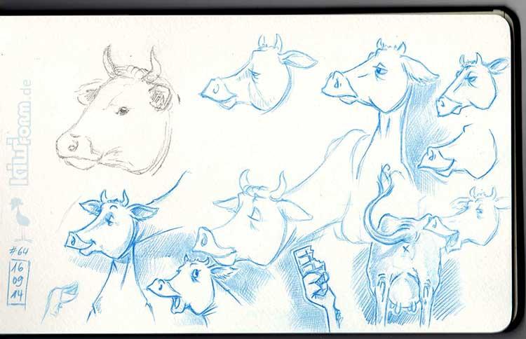 Daily Illu #64 – Die Kuh macht muh