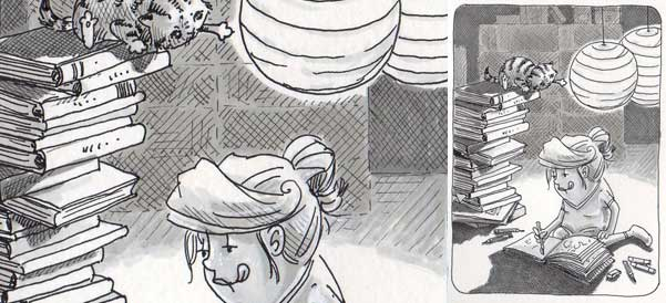 Daily Illu #70 – Wieder ein Skizzenbuch voll