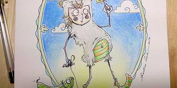 Daily Illu #72 – Gurkenlutscher
