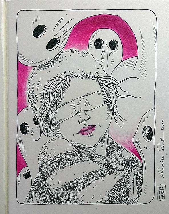 Daily Illu #80 – Traumraum