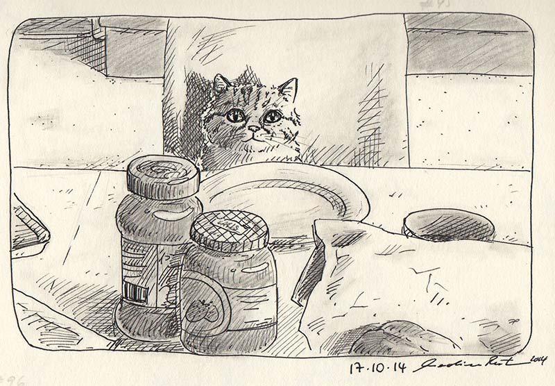 Daily Illu #95 – Katerfrühstück