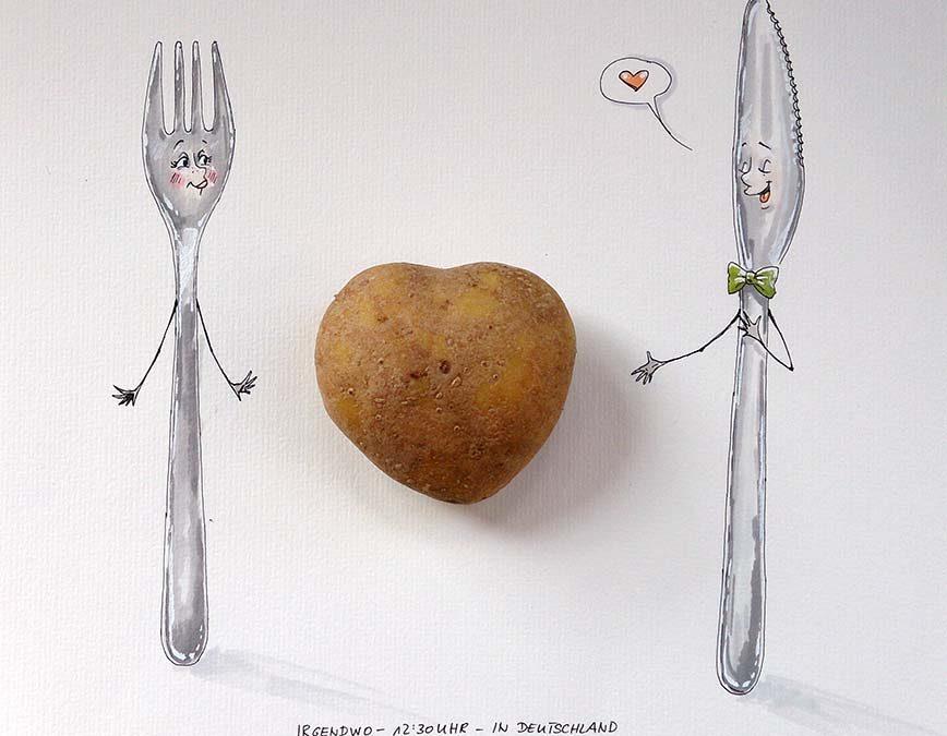 Daily Illu #104 – Ich kartoffel dich.