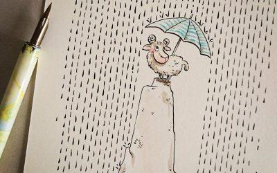 Enjoy the rainy days.